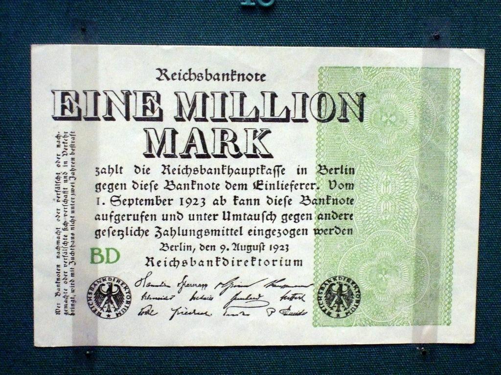 una banconota del 1923